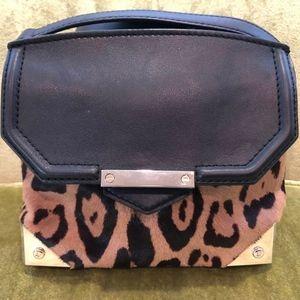 Alexander Wang Marion Animal-Print Calf Hair Bag